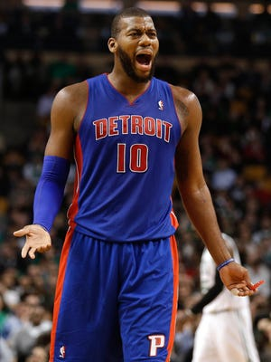 Pistons power forward Greg Monroe is a restricted free agent after this season and could command a price higher than Detroit is willing to pay.
