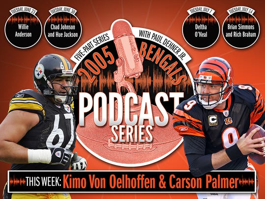 Carson Palmer and Kimo Von Oelhoffen discuss the 2005 season and the hit that shredded Palmer's knee.
