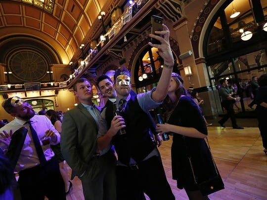 The annual New Year's Eve Masquerade Ball is scheduled for Dec. 31 at Union Station.