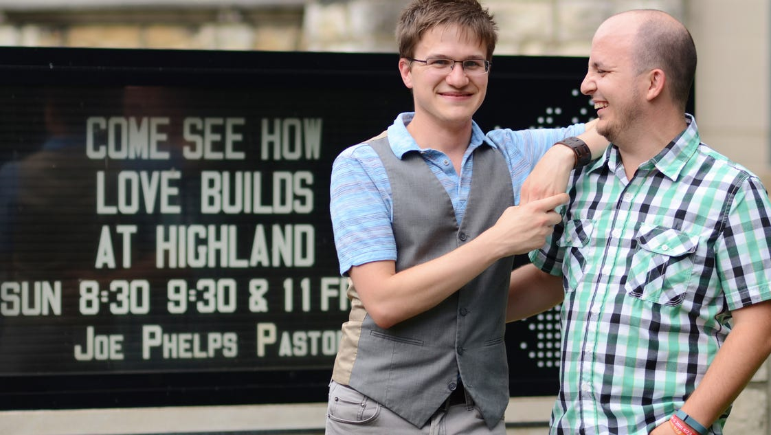 baptist church in ky plans first gay wedding. Black Bedroom Furniture Sets. Home Design Ideas