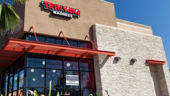 A typical Teriyaki Madness restaurant. The Denver-based company has nearly 150 locations serving fresh Asian food.