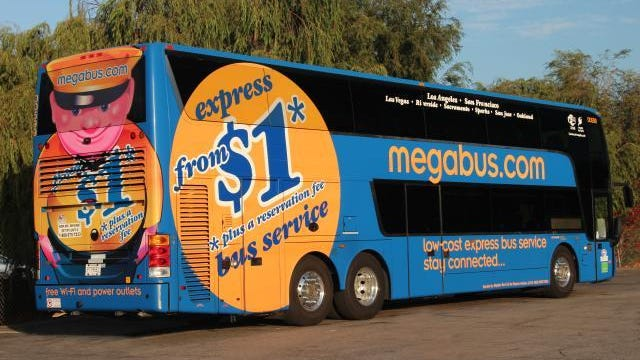 Megabus.com is ending service to and from Reno on Jan. 10, 2018.