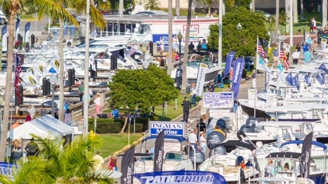 The Fort Myers Boat Show opens Thursday and runs through Sunday.