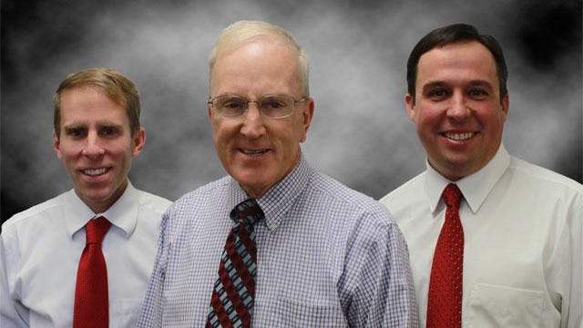 From left to right you have Commissioners Zachary D. Renstrom, Alan D. Gardner and Victor Iverson.