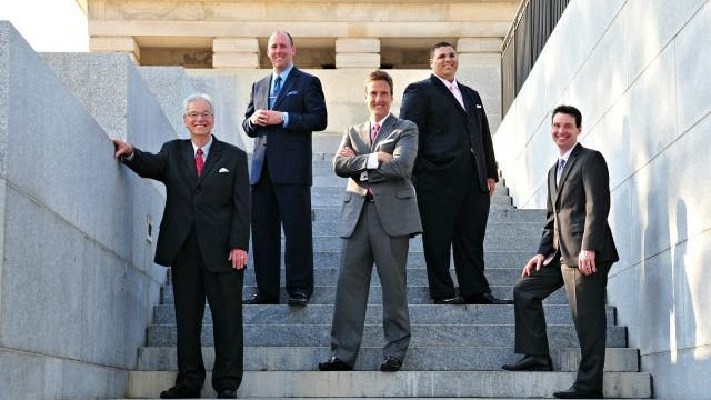 Contributed photo Southern Gospel group the Conquerors Quartet are celebrating their 26th anniversary with a celebration concert featuring nationally-known Gospel group The Perrys