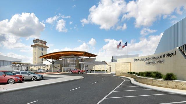 Renderings for San Angelo Regional Airport Improvements