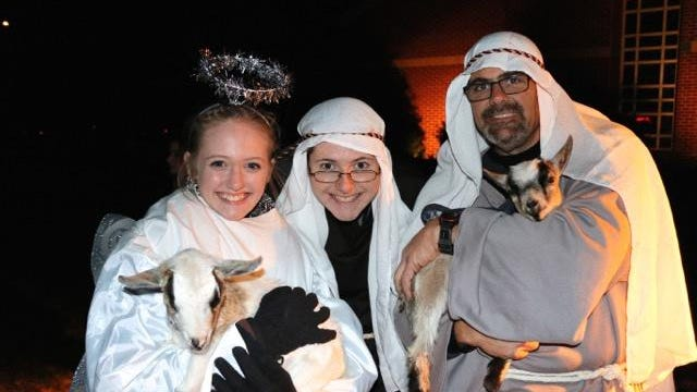 King of Kings Lutheran Church will present its 4th Annual Outdoor Live Nativity on Dec. 3, from 5 to 6:30 p.m.
