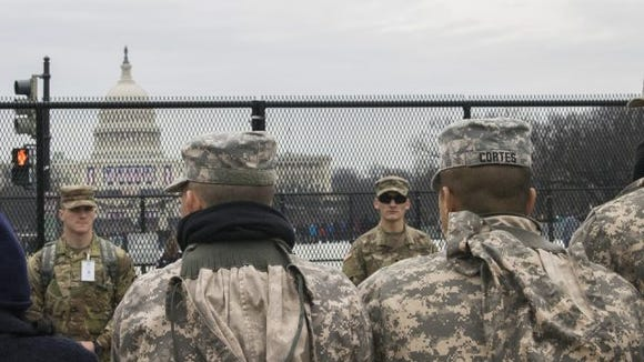 inauguration security