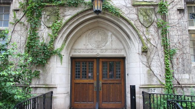The Northwestern University School of Law.