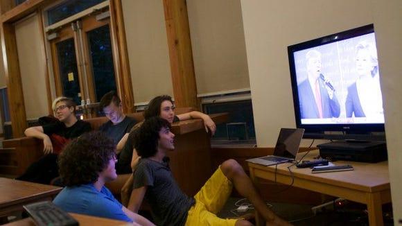 second debate college students reed