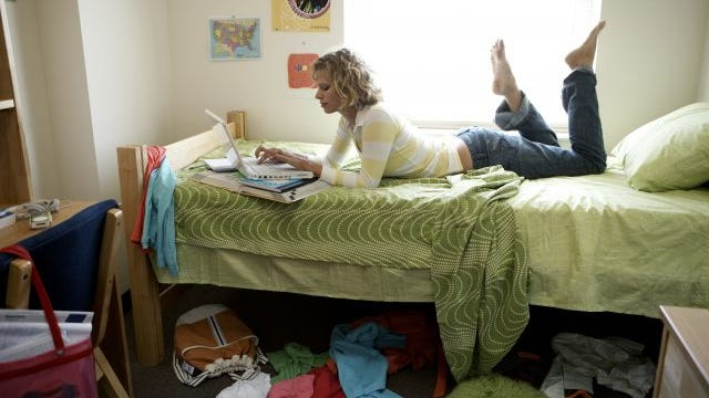 Germs are breeding in your dirty dorm room as you read this.