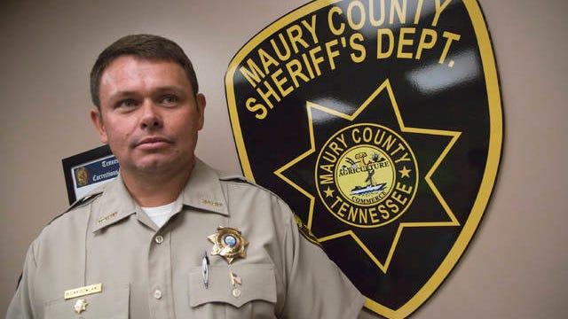 Maury County Sheriff Bucky Rowland.