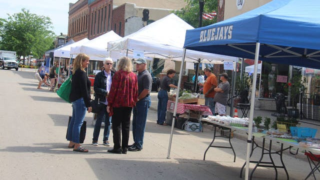 The Perry Farmers Market will kick off the 2020 season on Thursday, July 2 on Second Street between Willis and Warford. PHOTO BY ALLISON ULLMANN/THE PERRY CHIEF
