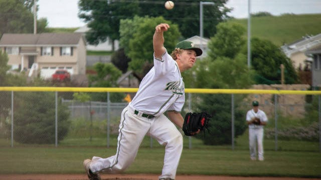 Brandon Worley pitches during a game earlier this season. PHOTO BY SEAN CORDY/THE PERRY CHIEF