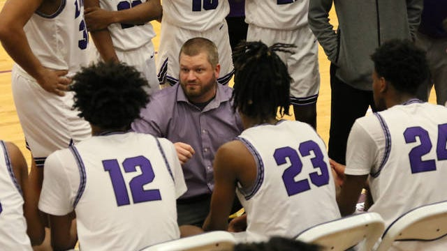 Nick Campbell and his Columbia Central boys stopped a five-game losing streak Monday night, defeating Lawrence County 63-53 in District 8-AAA play at the Hardy Loyd Gymnasium.
