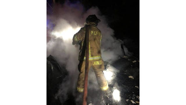 Firefighters with the Maury County Fire Department responded to multiple calls on Monday.