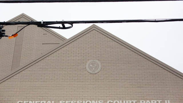 Clouds cover General Sessions Court Part II in Mt. Pleasant on Tuesday, Feb. 18, 2020.