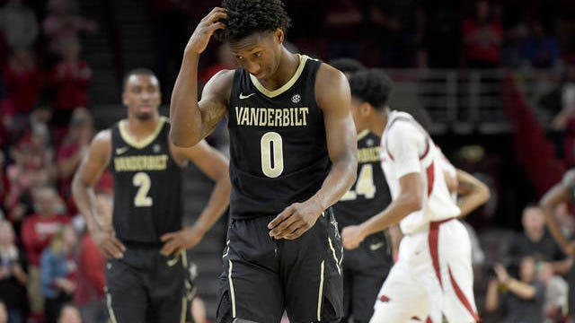 Saben Lee left Alabama scratching its collective head Tuesday night, scoring a career-high 38 points as Vanderbilt upset the host Crimson Tide 87-70.