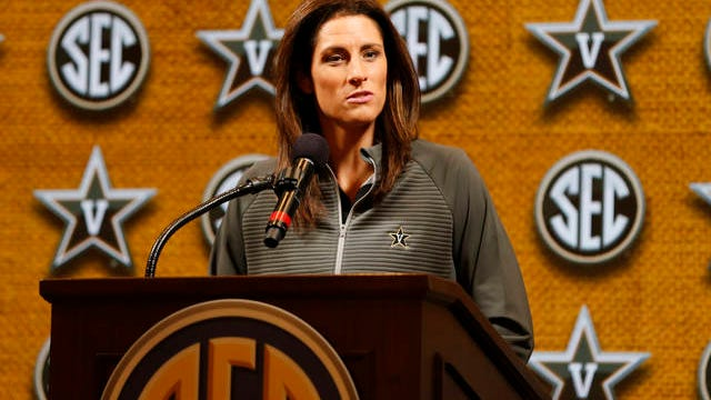 Stephanie White remains winless at the Southeastern Conference women's basketball tournament, as Vanderbilt fell Wednesday to Auburn 77-67. Since taking over the Commodore program, White is 0-4 in the SEC tourney.