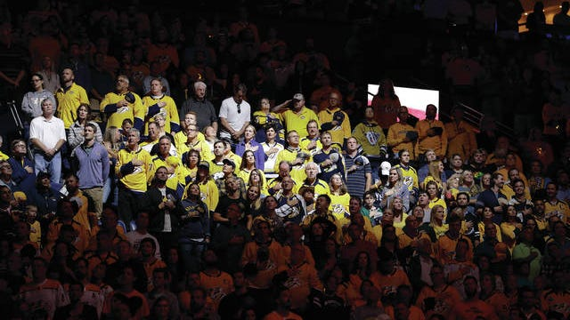 Fans are continuing to attend most sporting events, such as Nashville Predators hockey, but leagues, teams and athletes are trying to exercise the right amount of caution as cases of the coronavirus continue to be diagnosed worldwide.
