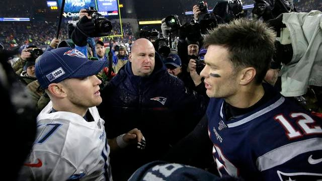 After losing to Ryan Tannehill and the Tennessee Titans in the AFC wild-card game, speculation as to the 2020 landing spot for former New England Patriots quarterback Tom Brady includes Nissan Stadium.