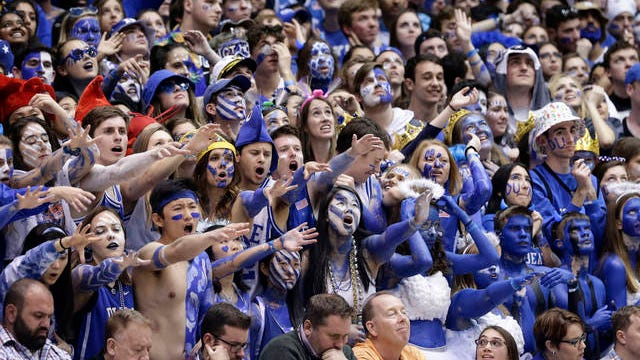 """Arena seats will be largely empty for """"March Madness"""", as the NCAA announced Wednesday that attendance for the upcoming men's and women's basketball tournaments will be limited to essential staff and family members."""