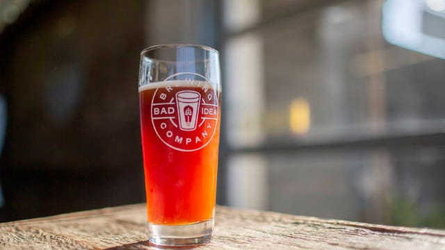 Bad Idea Brewing opened its doors for the first time inside the Columbia Arts Building on Saturday, Sept. 7, 2019.