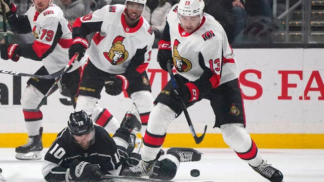 The Ottawa Senators, who played three consecutive games in California before the suspension of the NHL regular season, are the league's first team to have a player test positive for COVID-19.
