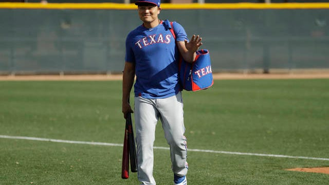 Texas Rangers outfielder/designated hitter Shin-Soo Choo is giving $1,000 to each of 191 of the organization's minor leaguers to help them through any financial issues created by the impact of the coronavirus pandemic.
