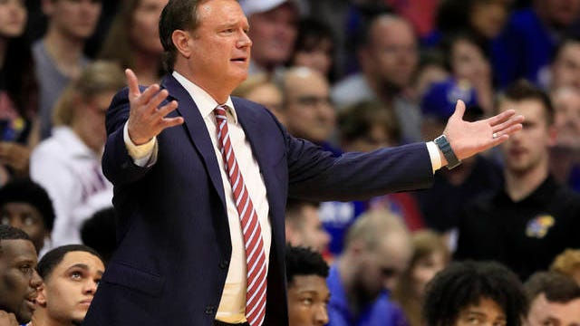 Bill Self was expected to have a chance to coach his Kansas Jayhawks in this weekend's Final Four in Atlanta, before the coronavirus pandemic dictated otherwise.