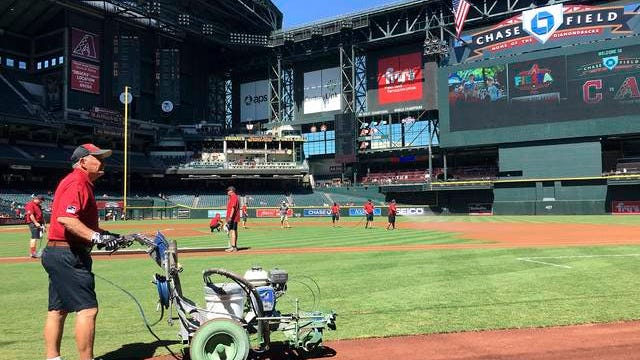 Chase Field, home of the Arizona Diamondbacks, is a key facility in talks of restarting a shortened Major League Baseball season with all 30 teams playing in or near Phoenix. Tripleheaders could potentially be played at the stadium, which has artificial turf and a retractable roof.