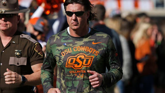 Despite most government officials and medical experts urging continued social distancing to battle the coronavirus pandemic, Oklahoma State football coach Mike Gundy said this week he hopes his program can resume preparation for the upcoming season by May 1.