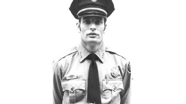 Billy Ray King as a newly enlisted firefighter in the 1960s.