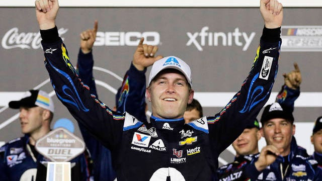 William Byron's career gained a bit of momentum in 2020, but not enough to carry him into the second round of the playoffs.