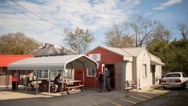 Los Potros, located at 1005 S. Main St. in Columbia, is one of several restaurants in the city working to start business up again. The popular Mexican restaurant has reopened its outdoor seating area.