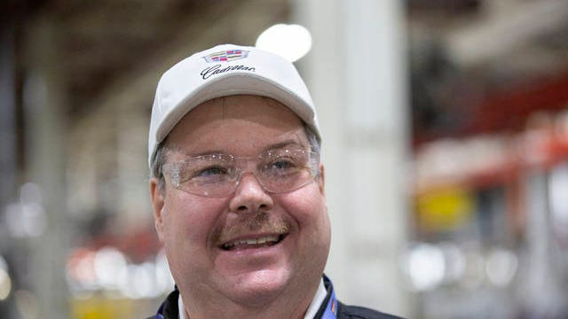 UAW Local 1853 Chairman Mike Herron stands inside the Global Propulsion Systems portion of the General Motors manufacturing facility in Spring Hill on Thursday, Jan. 16, 2020.