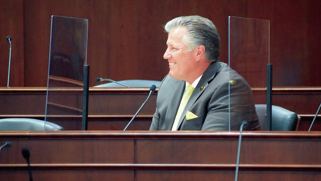 State Rep. Scott Cepicky, R-Columbia, returned to the chambers oi the Tennessee House of Representatives Tuesday for the first time in nearly two months.