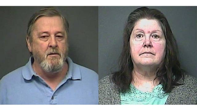 Brenda Gracin, 64, and Mario Gracin, 66, have both been inducted under charges of theft, allegedly stealing more than $100,000 from the Benton Town Hall Homeowners Association.