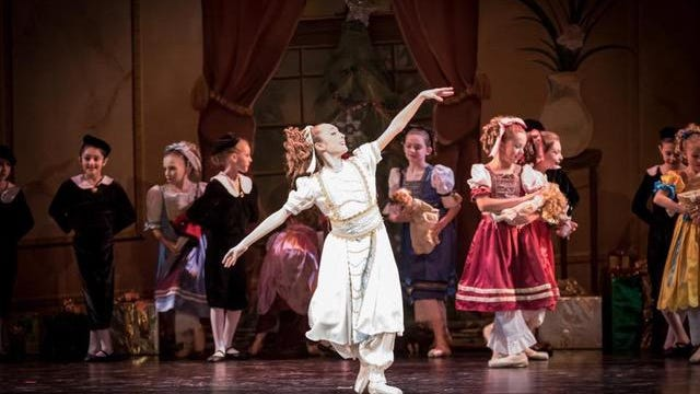 Performers take part in the New Jersey Civic Youth Ballet's Nutcracker.