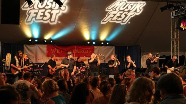 The Sofa Kings perform at a previous Musikfest. They will perform the final live show of the series tonight at the Highmark Blue Shield Community Stage.