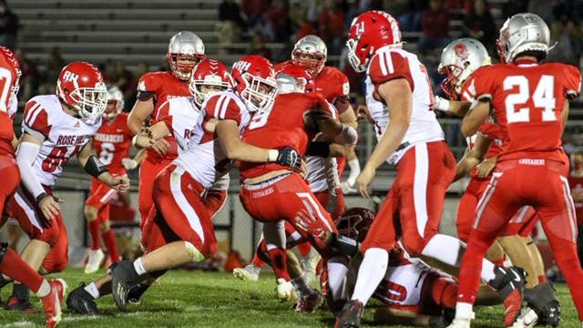 Rose Hill's defense rose to the occasion on Friday night