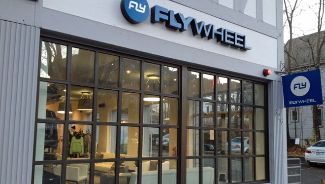 Boutique workout studio FlyWheel Sports has opened a location in Scarsdale .
