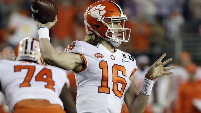 Clemson quarterback Trevor Lawrence is pushing for the opportunity to play this season despite the pandemic.