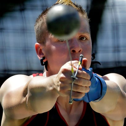 Women's hammer thrower Keelin Godsey is pushing for NCAA member schools to adopt guidelines for better integrating transgender athletes in their teams.