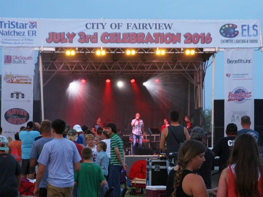Fairview's 2018 Independence Day Celebration will include lots of live music at city hall on July 3.