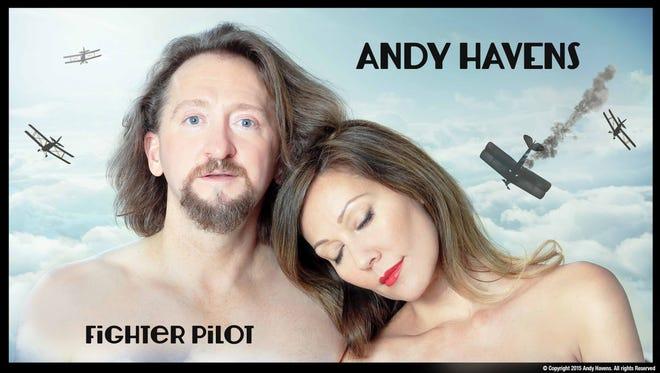 "Album art for Andy Havens' ""Fighter Pilot."""