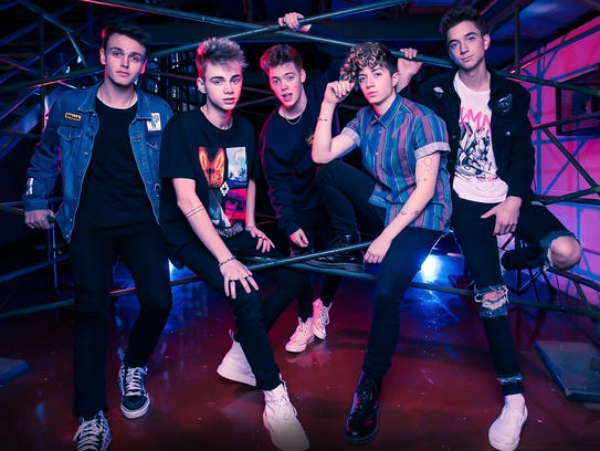 The band Why Don't We.