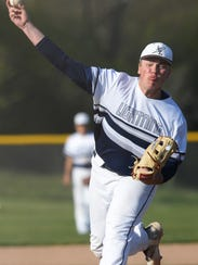 Lake Country Lutheran's Tyler Brandenburg pitches in