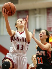 """Ella Collier practices a lot. After a loss, she said: """"I have to go to the gym and shoot because I just have to."""""""
