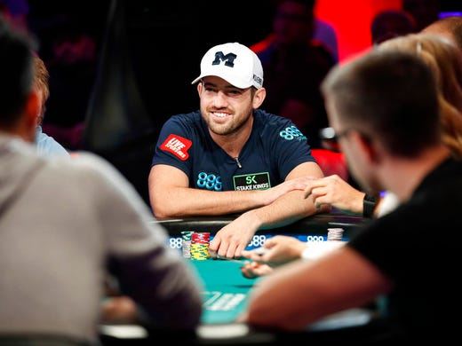 Nic mannion joe cada finish in 4th 5th at wsop main event - Final table world series of poker ...